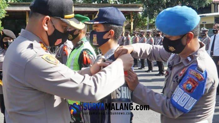Pengamanan Natal dan Tahun Baru 2021, Polres Blitar Kota Antisipasi Penyebaran Covid-19