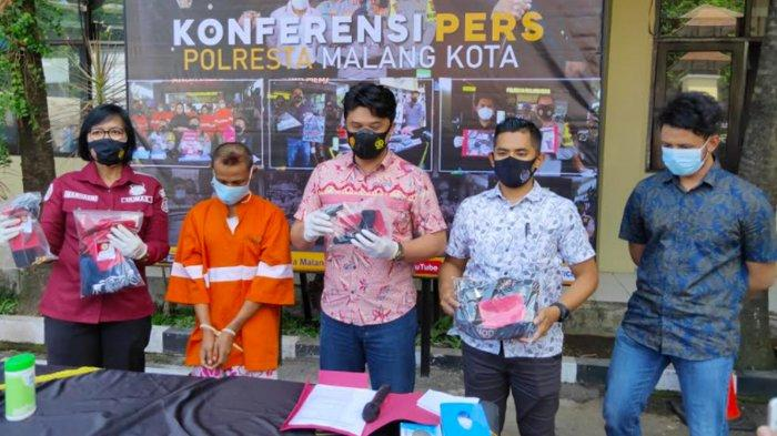 Pengamen Asal Dampit Ditangkap Polisi Seusai Bobol Alfamart di Sukun Kota Malang