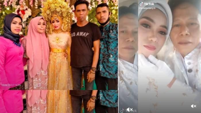 Viral Tangis Pilu Pengantin Wanita, Suami Meninggal Jelang Resepsi, Terpaksa Sambut Tamu Sendirian