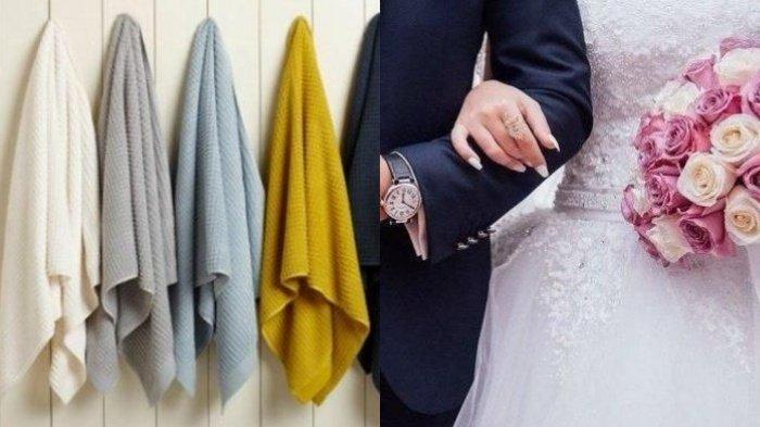 Gegara Dikado Handuk di Pernikahan Mewahnya, Perngantin Baru Ini Sakit Hati hingga Curhat di Medsos