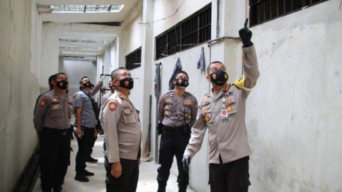 Kapolresta Malang Kota Kombes Pol Leonardus Simarmata Cek Ruang Tahanan, Ini Tujuannya