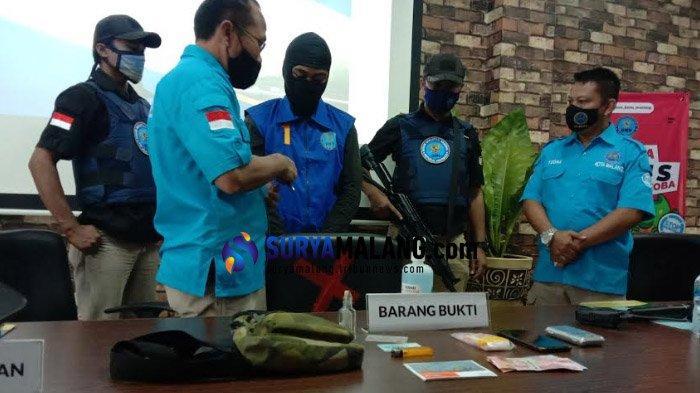 BNN Kota Malang Bekuk Pengedar Sabu, Modus Transaksi Pakai Sistem Ranjau