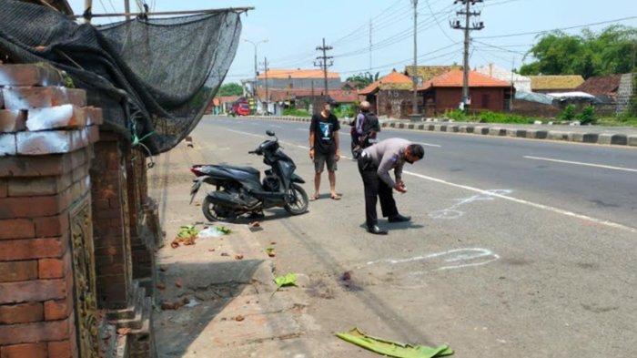 Pengendara Motor Tewas Seusai Tabrak Pagar di Jalan Trowulan Mojokerto