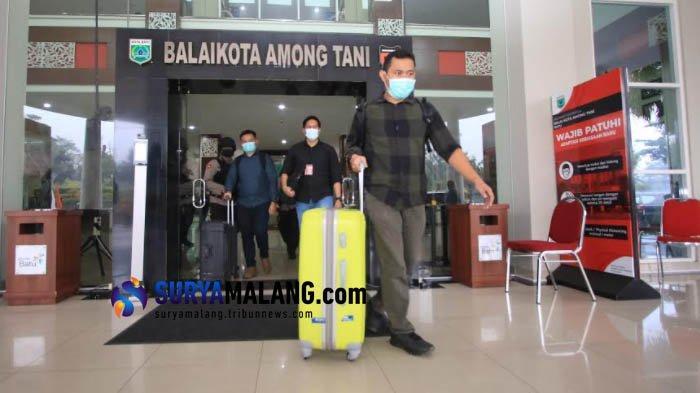 KPK Kembali Geledah Balaikota Among Tani, Total Sudah 9 Dinas Pemkot Batu Digeledah