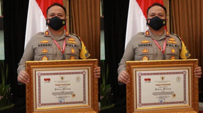Polres Malang Raih Penghargaan Pelayanan Publik Terbaik Kategori Pelayanan Prima 2020