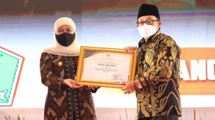 Kota Malang Raih Penghargaan Terbaik Kedua PPD Tingkat Provinsi Jawa Timur untuk Kategori Kota