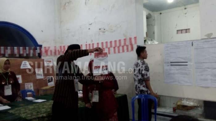 Pemungutan Suara Ulang Di Kota Malang, Pasangan Jokowi-Ma'ruf Unggul Atas Prabowo - Sandiaga