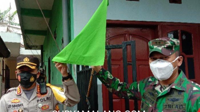 Polresta Malang Kota dan Kodim 0833 Kota MalangKukuhkan Posko PPKM Mikro di RW 01 Sukoharjo
