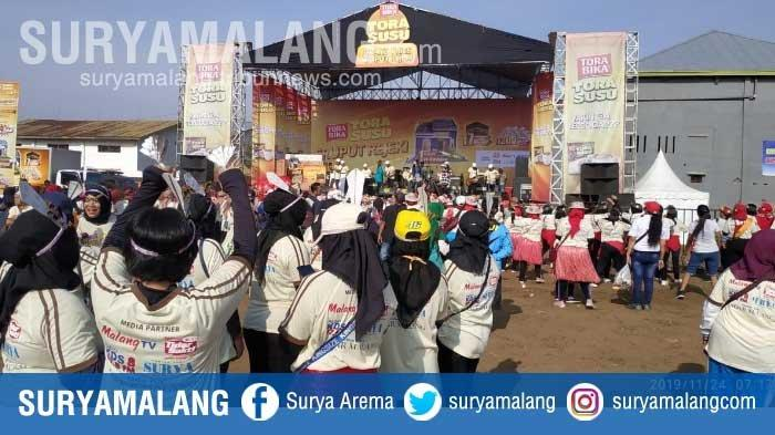 Meriahnya Pengundian Grand Prize Sruput Rezeki Torasusu di Malang