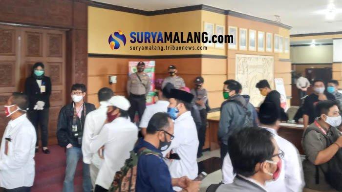 Klarifikasi KPU Kabupaten Malang Seusai Kericuhan Sidang Pengundian Nomor Urut Pilkada Malang 2020