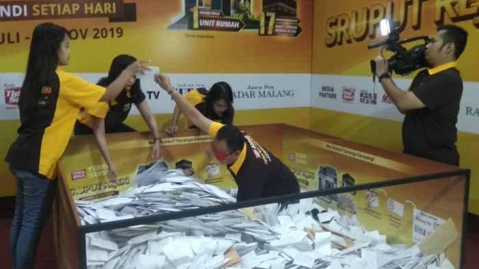 Daftar Pemenang Uang Rp 500.000 Undian Sruput Rejeki TORASUSU MALANG Periode 24 Oktober 2019