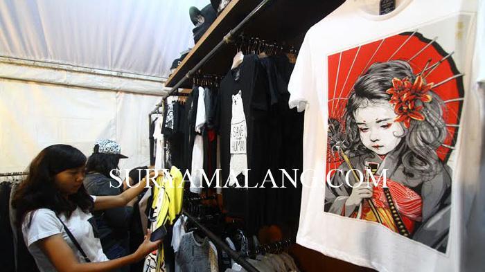 Distro Tumbuh Subur, Malang Surga Penggila Fashion