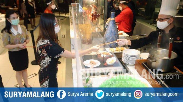 Menyantap Sajian All You Can Eat dengan Konsep Untouched di Shangri-La Hotel Surabaya