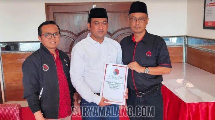 Ketua Pertina Kota Malang dan Anak Tukang Tambal Ban Ingin Jadi Bupati Malang Lewat PDI Perjuangan