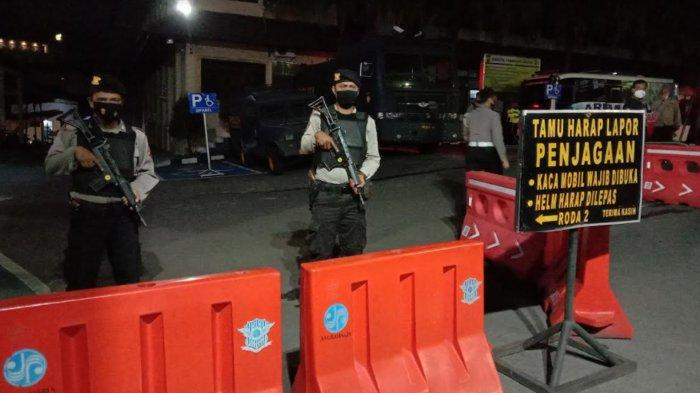 Imbas Terduga Teroris Serang Mabes Polri, Penjagaan di Polresta Malang Kota Diperketat