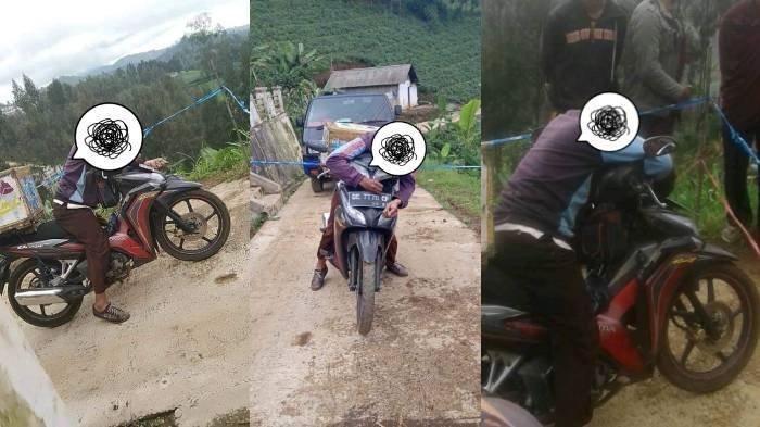 Fakta-fakta Penjual Es Krim Keliling Probolinggo Meninggal di Atas Motor Honda, Fotonya Viral di FB