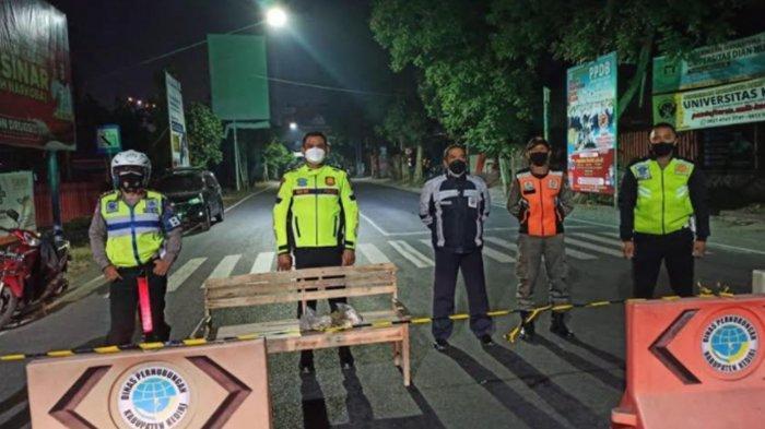 Malam Takbiran Idul Adha 2021, Simpang Lima Gumul Kabupaten Kediri Ditutup untuk Umum
