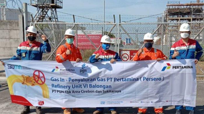 PGN Subholding Gas Sinergi Penuhi Kebutuhan Gas Pertamina Refinery Unit VI Balongan