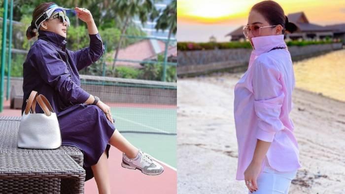 Syahrini Gelisah Badannya Makin Montok, Pakai Celana Ketat untuk Olahraga Istri Reino Barack Disorot