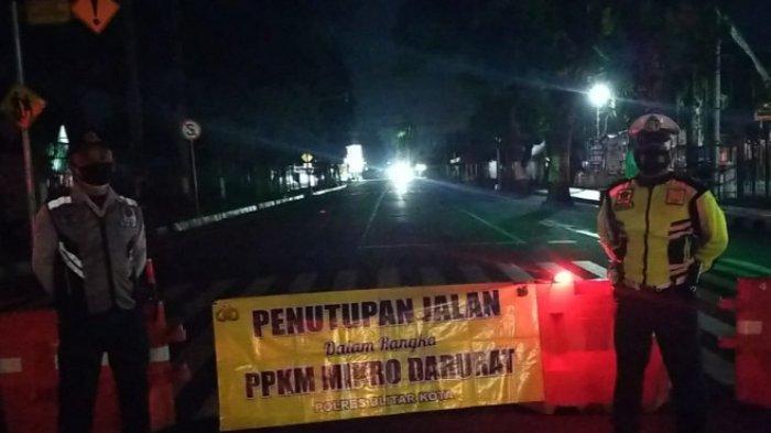 Akses Masuk Kota Blitar Tutup Mulai Pukul 17.00 WIB Hari Ini