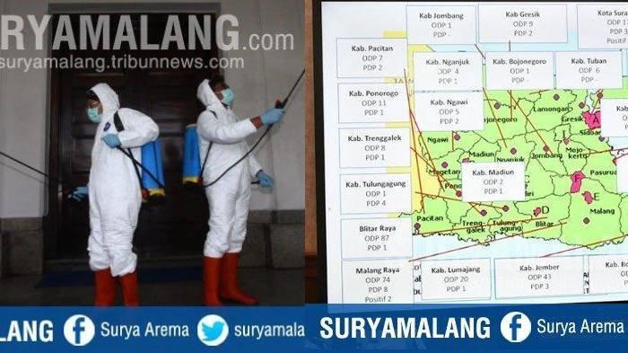 Update Virus Corona di Malang Jatim 27 Maret 2020, Pasien Positif Covid-19 Ada 6 & Meninggal 1 Orang