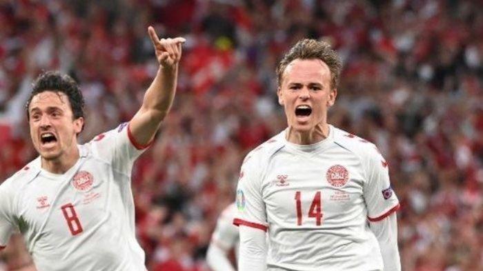 Kesucian Gawang Inggris Ternoda Oleh Gol Mikkel Damsgaard saat Jumpa Denmark di Semifinal Euro 2020
