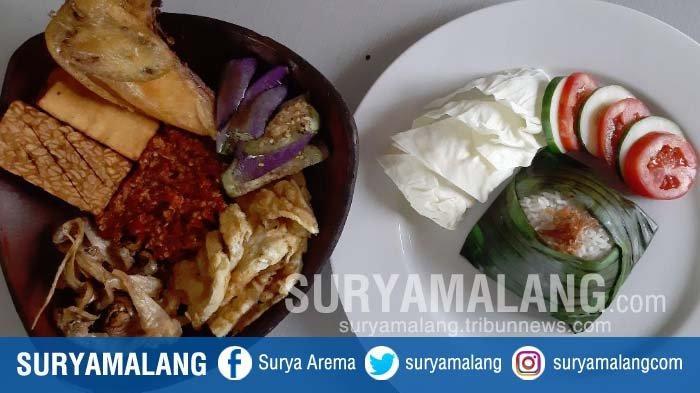 Penyetan in One Plate Solution di Hotel Santika Jemursari, Surabaya, Cukup Bayar Rp 60.000
