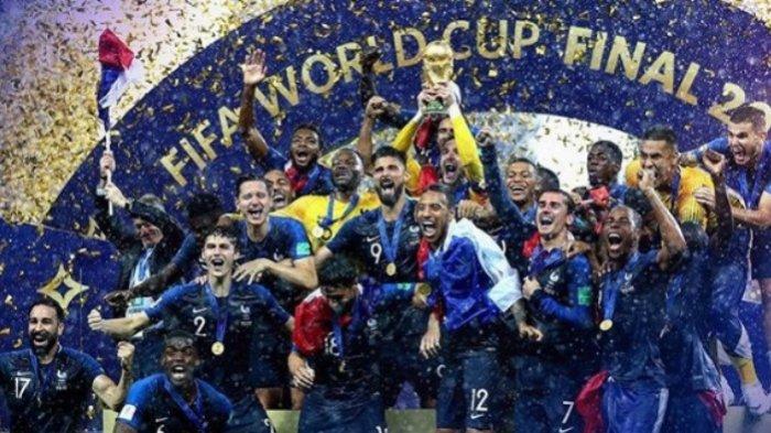 Perancis Juara Piala Dunia 2018, Memori Indah Tahun 1998 Terulang Kembali