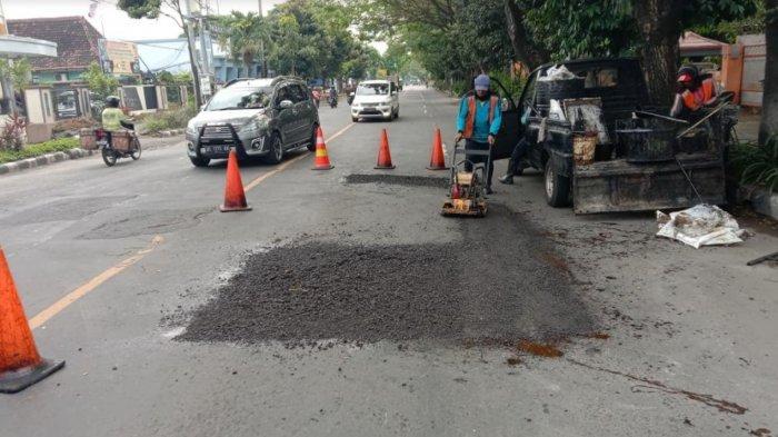Pemkot Kediri Nyatakan Telah Perbaiki 394 Titik Jalan Rusak di Kota Kediri di Tahun 2021