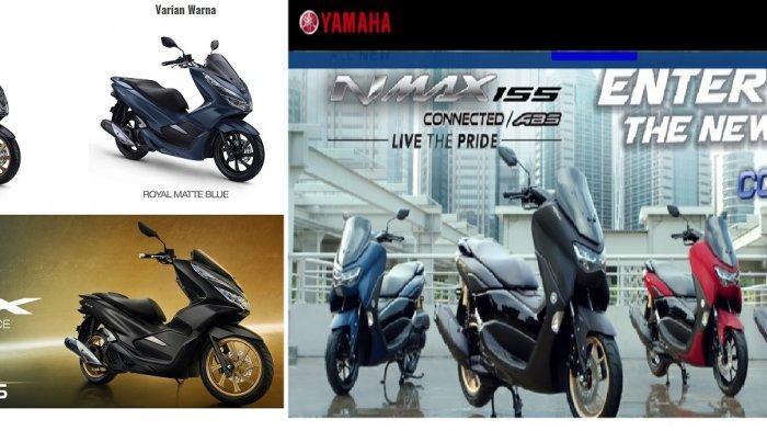 Perbandingan Yamaha NMAX 2020 dan Honda PCX Terbaru, Mana yang Lebih Unggul?
