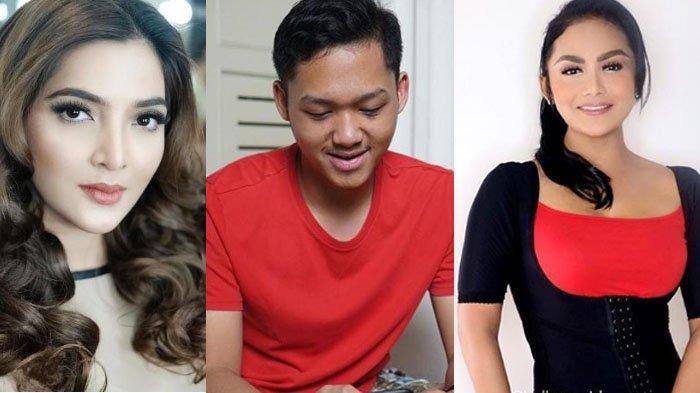 Potret Ashanty, Azriel dan Krisdayanti