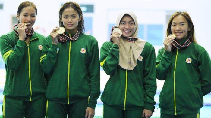 Tambah 3 Medali Emas, Tim Renang Jatim Pecahkan Rekor PON Lagi