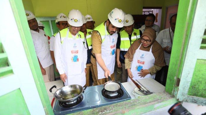 PGN Realisasi Kebutuhan Gas Bumi Untuk 5.088 Sambungan Rumah Tangga Di Kota Probolinggo