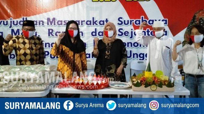 Belum Dapat Rekom PDIP untuk Pilwali Surabaya, Ning Tiwi Sudah Resmikan Posko Pemenangan