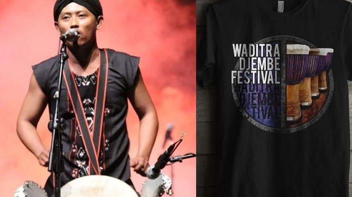1.000 Kendang Marakkan Waditra Djembe Festival di Kota Blitar