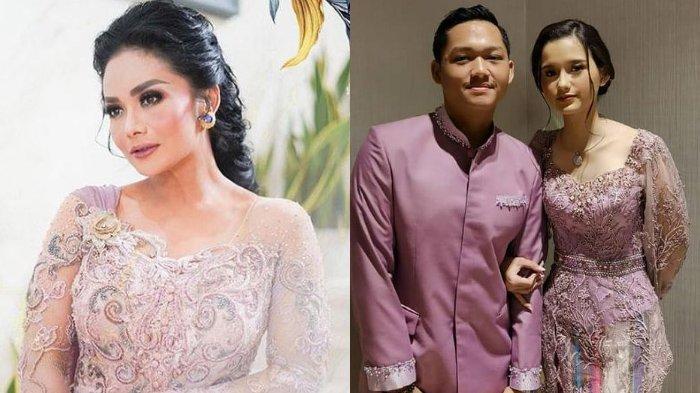 Potret Krisdayanti dan Azriel Hermansyah bersama pacar saat acara lamaran Aurel Hermansyah dan Atta Halilintar.