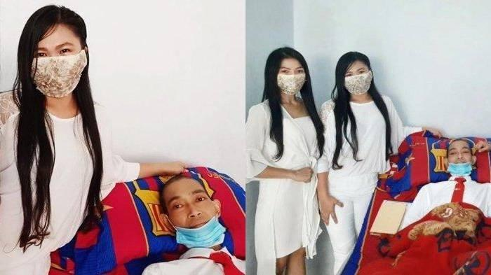 Viral Cewek Minahasa Ikhlas Nikahi Cowok Kritis Usai 15 Tahun Pacaran, Terungkap Alasannya Bertahan