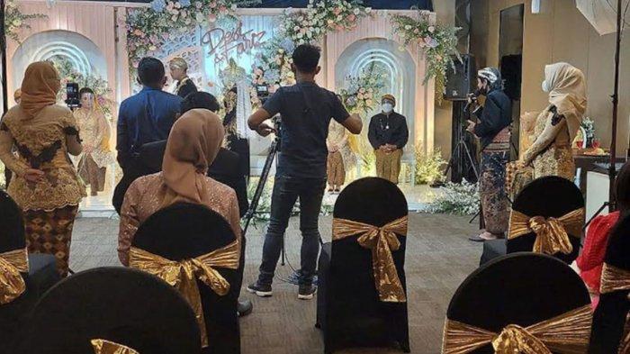 Resepsi Pernikahan di Hotel Distop Satgas Covid-19 Kota Kediri, Sesuai Aturan PPKM Darurat Level 4