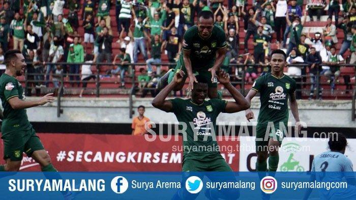 Amido Balde Cetak Gol Perdana di Musim 2019, Ini Komentar Pelatih Persebaya Djadjang Nurdjaman
