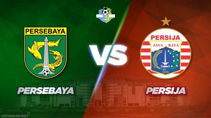 LINK LIVE STREAMING Persebaya Vs Persija Liga 1 Pekan 29, Sore ini Kick Off 15.30 WIB