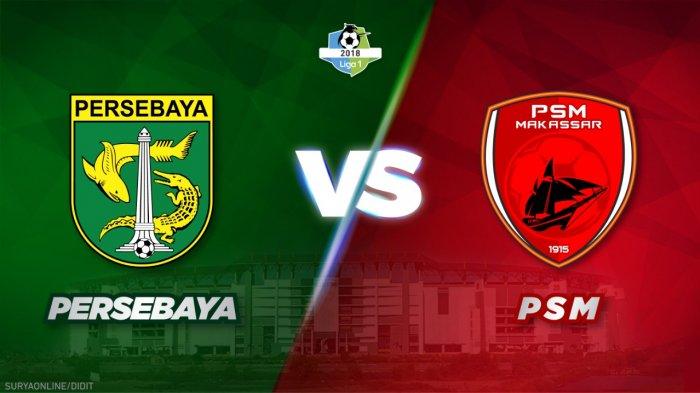 Link Live Streaming Pertandingan Persebaya Surabaya Vs PSM Makassar, Momentum Hari Pahlawan !