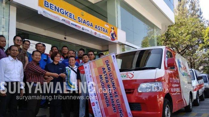 600 Teknisi Kendaraan Astra World Disiagakan Sepanjang Jalur Mudik Lebaran Merak - Bali