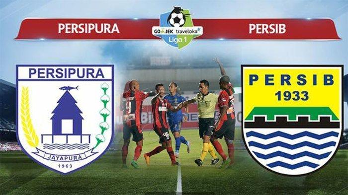 Link Live Streaming Persipura Vs Persib Bandung, 15 Oktober 2018 Jam 13.30 WIB