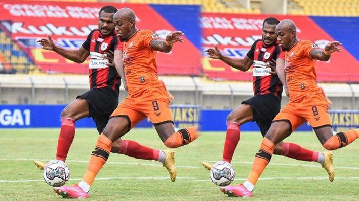 Persiraja Banda Aceh Vs Persipura Jayapura di peka ke-4 Liga 2021