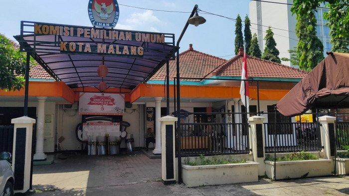 Personel Gabungan Jaga KPU Kota Malang, Antisipasi Datangnya Massa