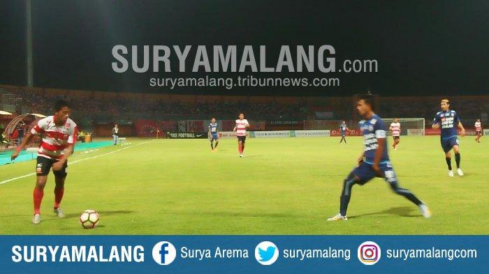 Pecundangi Arema FC di Pamekasan, Madura United Sukses Putus Catatan Buruk Ini . . .