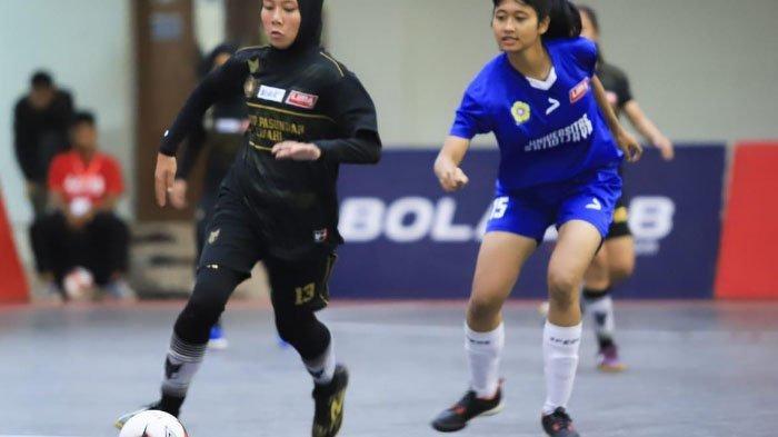 Tim Futsal Putri STKIP Pasundan Lolos ke Babak Semifinal LIMA Futsal Nationals Season 7 di Malang