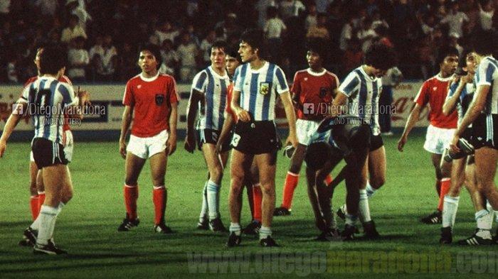 Sebelum Meninggal Dunia, Maradona Ungkap Kenangannya Tentang Timnas Indonesia di Piala Dunia Remaja
