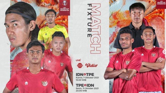 Siaran Langsung Pertandingan Timnas Indonesia Vs Taiwan Malam Ini, Ingat Kita Pernah Menang 10-1