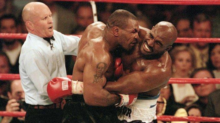 Sama-sama Sudah Umumkan Comeback, Mungkinkan Ada Holyfield Vs Tyson Jilid 3?